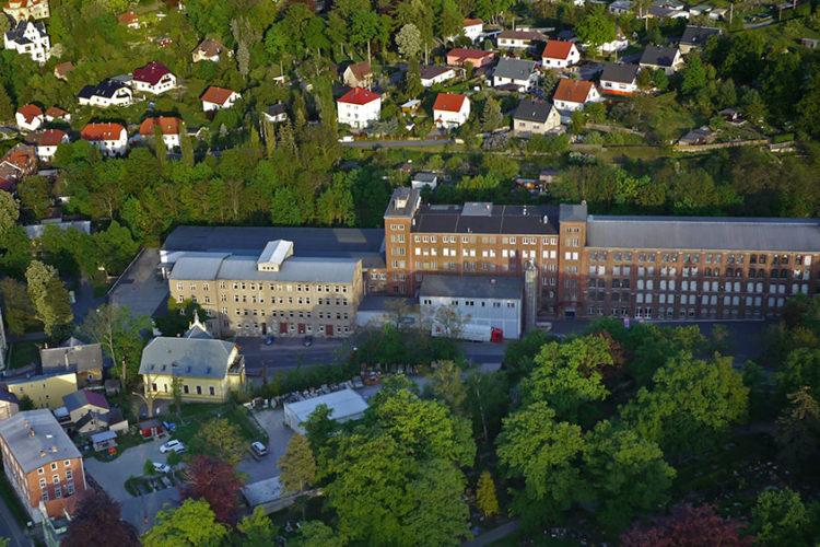 Firmenansicht der Heinerle-Berggold Schokoladen GmbH