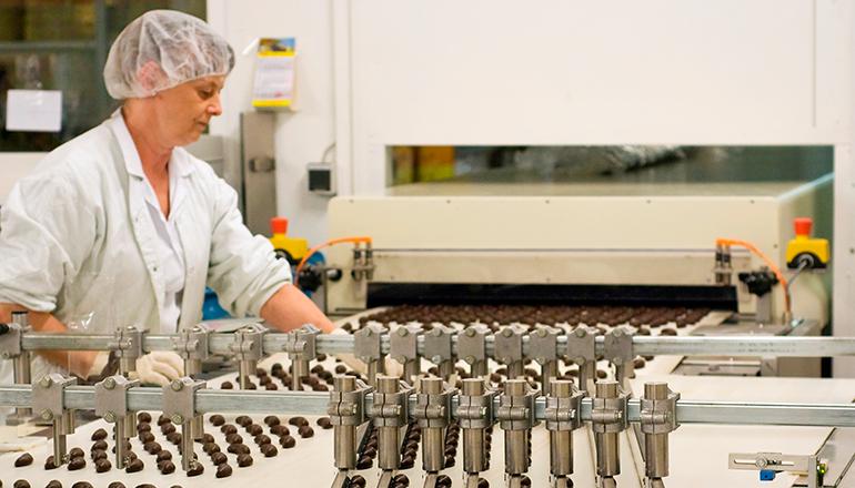Produktion Geleebananen